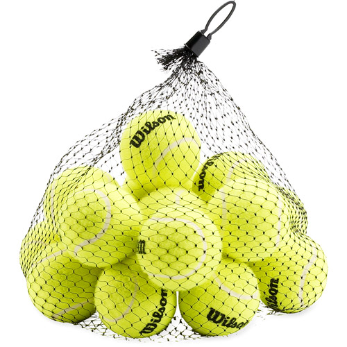 Wilson Pressureless Tennis Balls, 18-Ball Pack