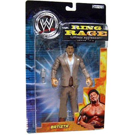 WWE Wrestling Ruthless Aggression Series 17.5 Ring Rage Batista Action Figure (Aggression Figure)
