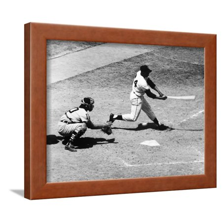 Willie Mays (1931-) Framed Print Wall Art