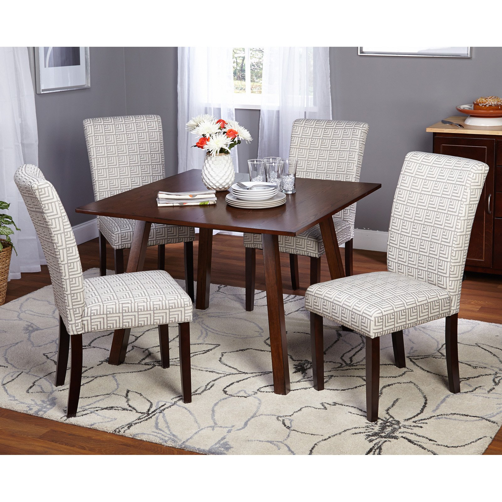 Target Marketing Systems Laurel 5 Piece Dining Table Set