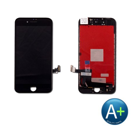 Touch Screen Digitizer and LCD for Apple iPhone 8 Black (A1863, A1905, A1906) ()