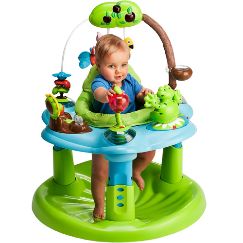 Evenflo- Exersaucer Jump And Learn, Frog