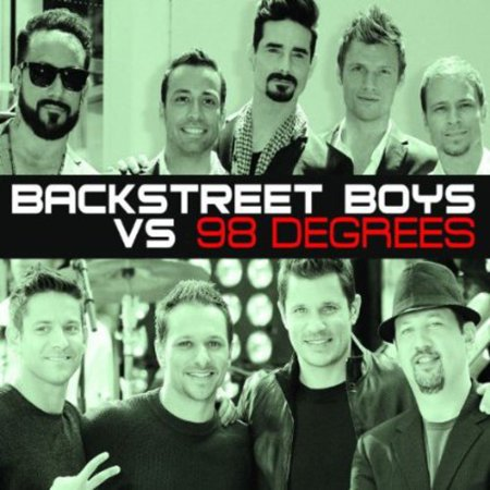 Backstreet Boys Vs 98 Degrees (CD)