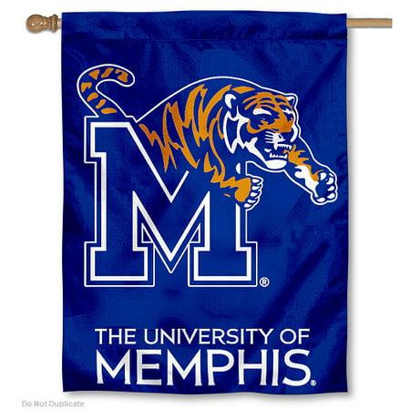 Tigers Indoor Banner Scroll (Memphis Tigers 30