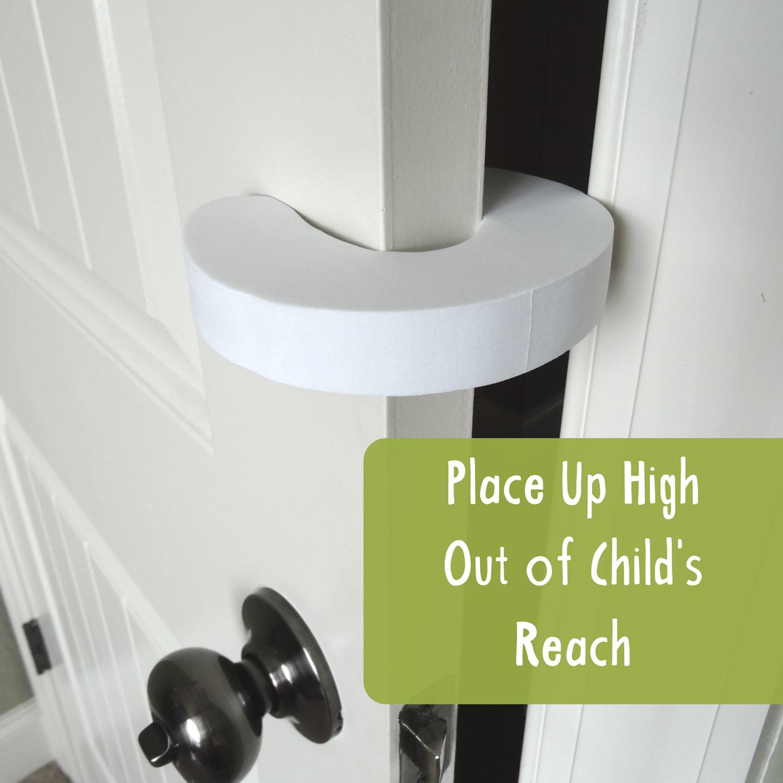 Wittle Finger Pinch Guard (4pk) Foam Door Stopper to Baby Proof Doors
