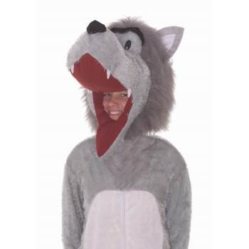 STORY BOOK WOLF PLUSH COSTUME - Homemade Storybook Costumes