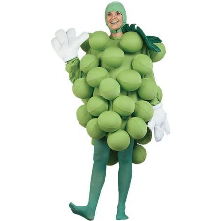 Green Grapes Adult Halloween - Grape Halloween Costume