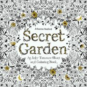Secret Garden An Inky Treasure Hunt And Coloring Book Image 1 Of