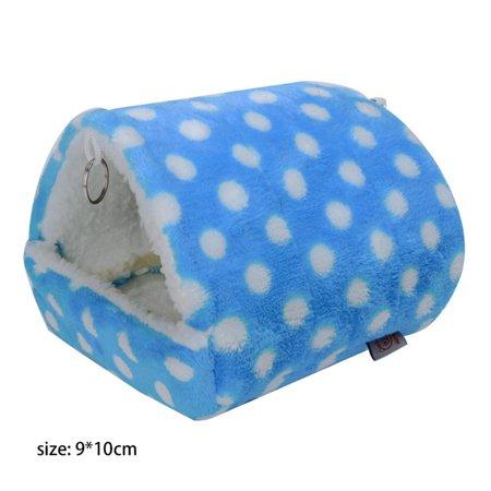AkoaDa Hammock for Ferret Rabbit Guinea Pig Rat Hamster Squirrel Mice Bed Toy House