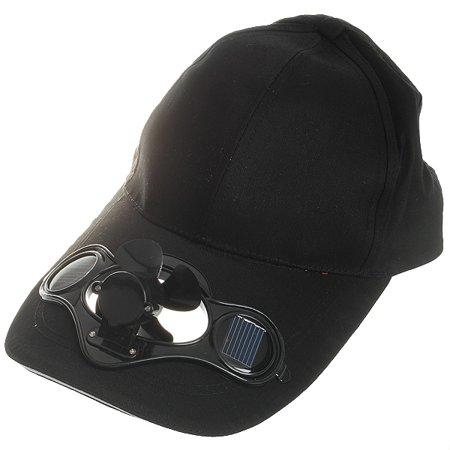 New Cotton Sports Solar Powered Fan Hat Cooling Baseball Cap Outdoor Camping  - Walmart.com 449f6d10d28