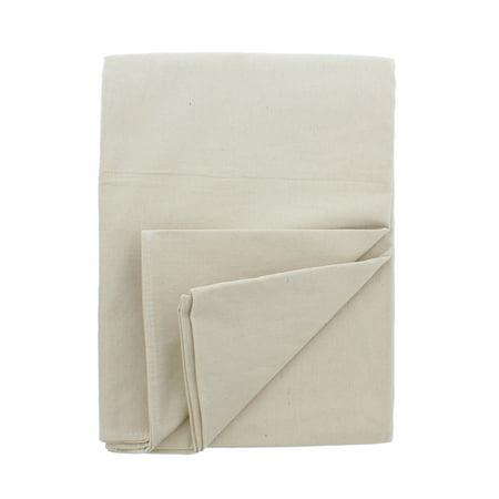 ABN Premium 4x15 Foot Medium Canvas Cotton Drop Cloth All Purpose Paint Shield