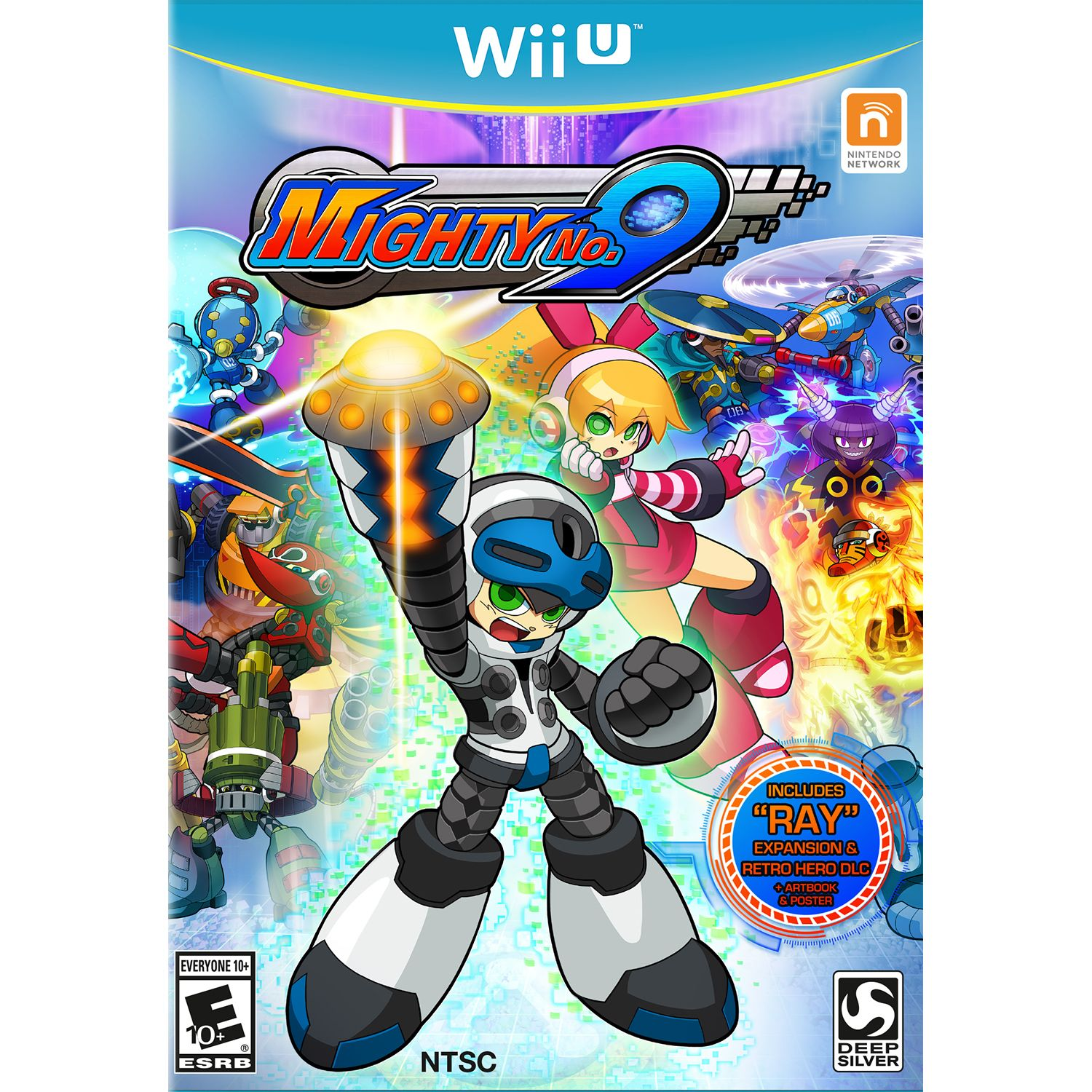 Deep Silver Mighty No.9 - Pre-Owned (Wii U)