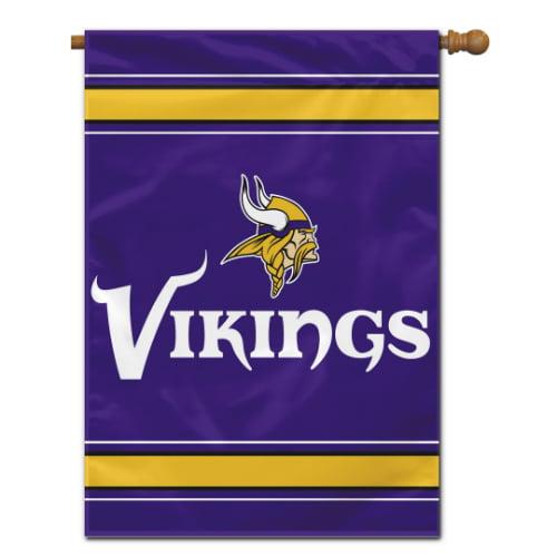 Fremont Die Inc Minnesota Vikings 2-Sided House Banner House Banner