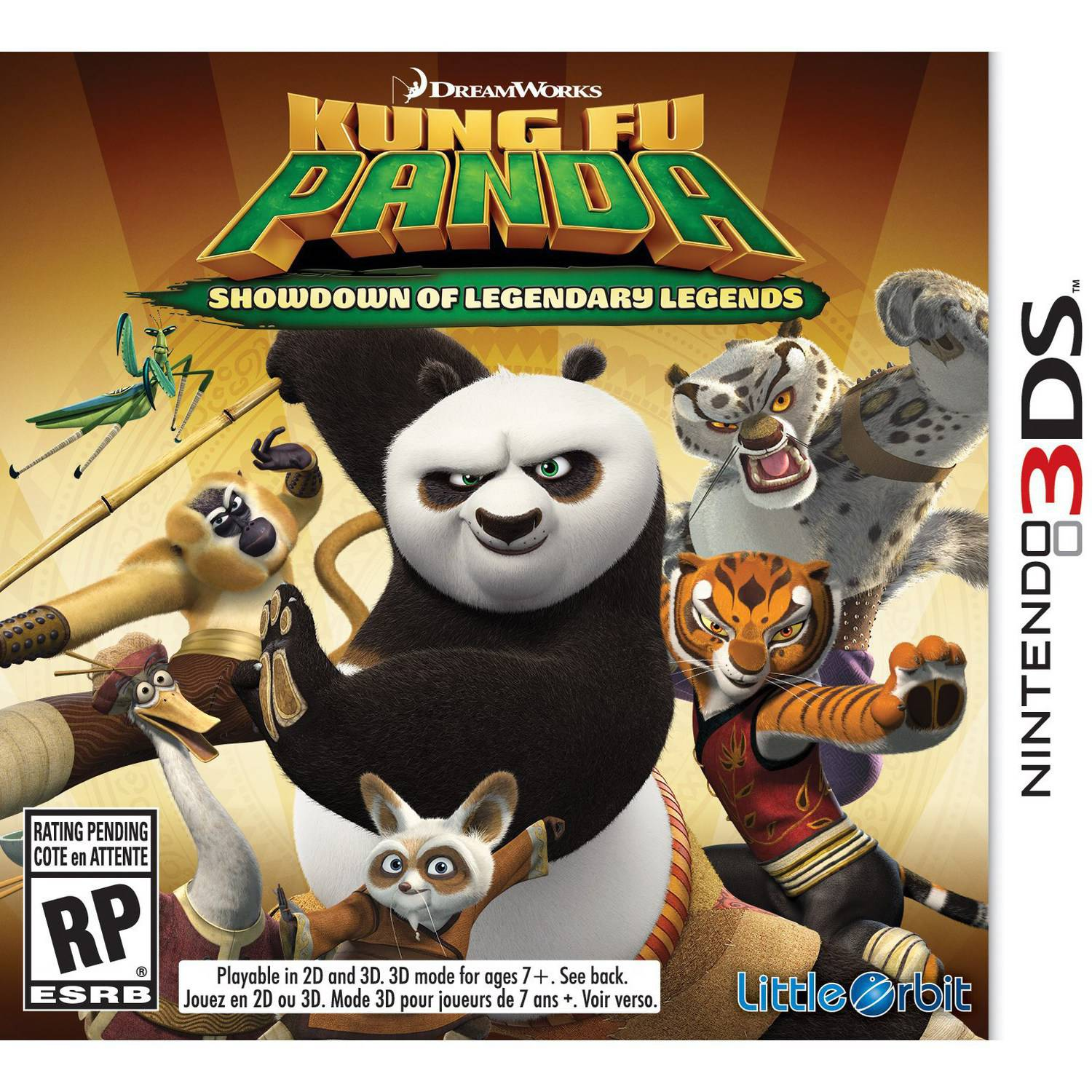 Vicious Cycle Software, Inc. Kung Fu Panda Showdown (Nintendo 3DS)