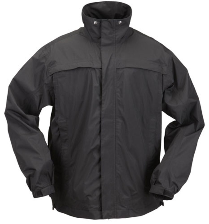 5.11 Tactical Tac Dry Rain Shell Jacket, Black