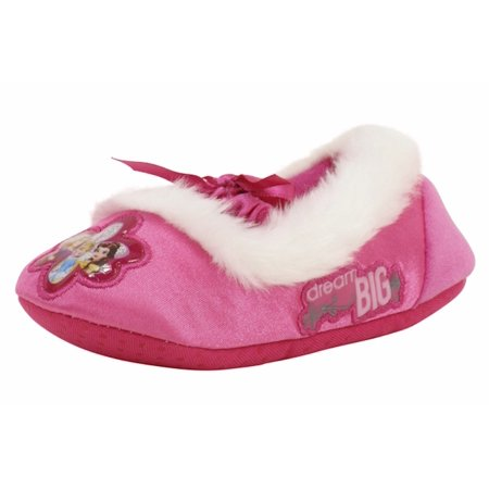 Disney Princess Toddler/Little Girl's Pink Fashion Fleece Slippers Shoes](Disney Slippers)