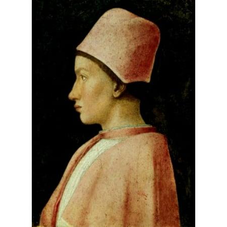 Portrait of Francesco Gonzaga Andrea Mantegna (1431-1506Italian) Capodimonte Gallery Naples Canvas Art - Andrea Mantegna (18 x 24)