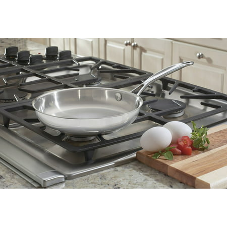 """Cuisinart Chef'S Classic Stainless Steel 8"""" Open Skillet"""