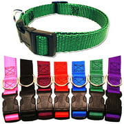 Majestic Pet 8`` - 12`` Adjustable Collar in Multiple Colors Fits Most 2-12 lbs Dogs