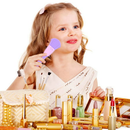 Little Girls Kids Pretend Play Makeup Dressing Cosmetic Kit Learning Beauty Preschool Toys,Make Up Toy, Girls Makeup Toy](Girl Werewolf Makeup)