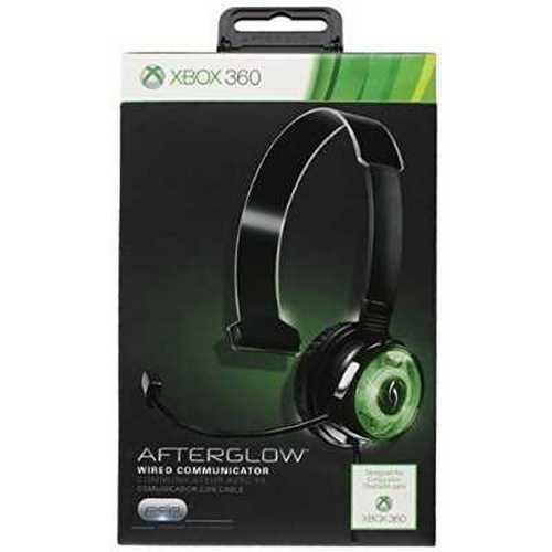 Refurbished PDP Afterglow Mono Chat Communicator for Xbox 360 - Green