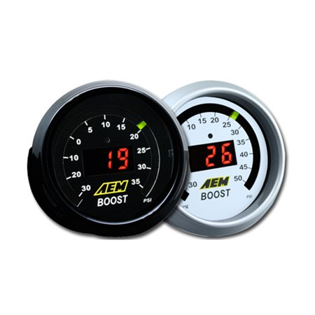 Aem Boost - AEM PERFORMANCE ELECTRONICS 30-4406 DIGITAL BOOST GAUGE. -30~5PSI