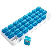 31 Pop Out Medication Pods, Monthly Pill Organizer by MEDca