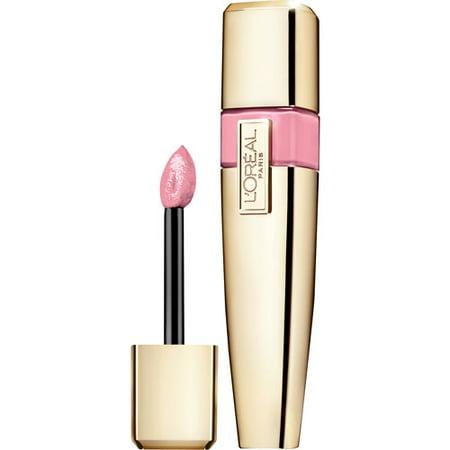 L'Oreal Paris Colour Caresse Wet Shine Lip Stain, Pink Perseverance, 0.21 Ounces