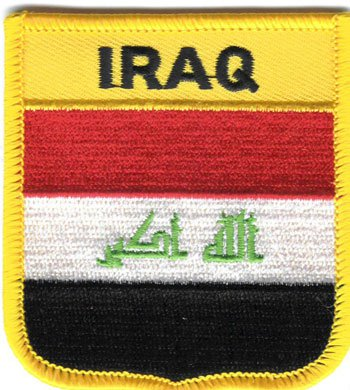 Iraq Shield Patch (2008)