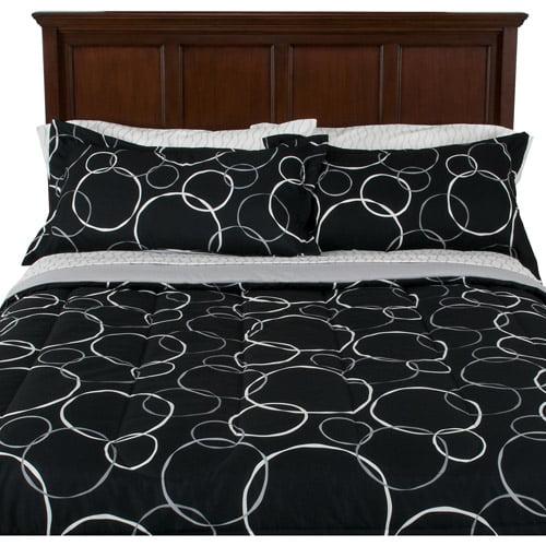 Mainstays Coordinated Bedding Set, Wonder Circles