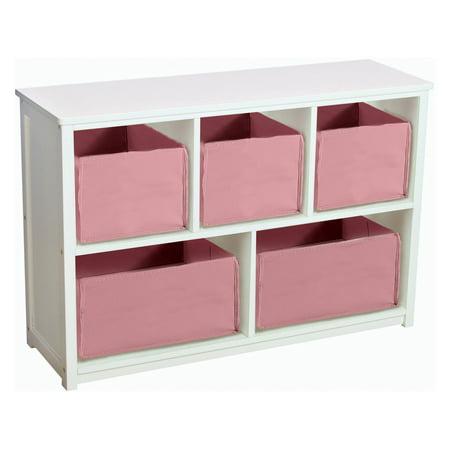 Guidecraft Classic White Bookshelf with Optional Baskets - Walmart.com