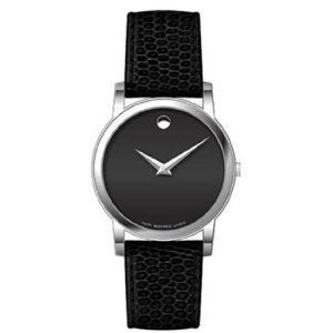 Movado Men's Museum Watch Quartz Mineral Crystal 2100002