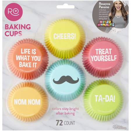 Wilton Rosanna Pansino Cupcake Liners, 72ct - Wilton Halloween Cupcake Combo Pack