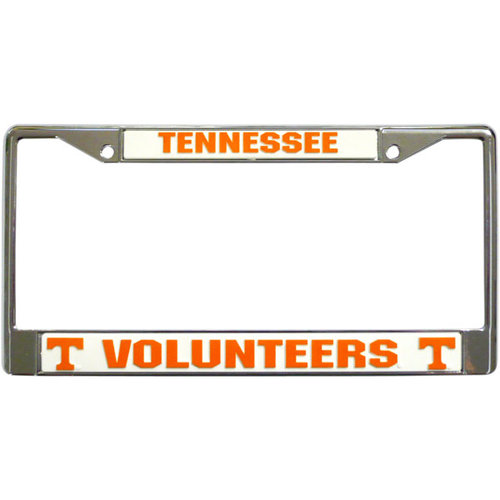 NCAA - Tennessee Volunteers Chrome License Plate Frame