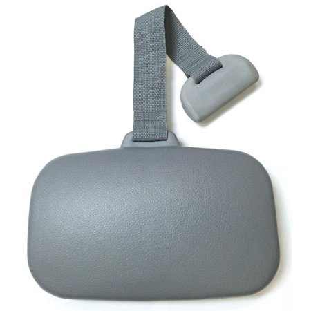 Hot Tub SpaEscort Weighted Single Pillow (Color: Gray) HTCP6935G (Weighted Shapes)