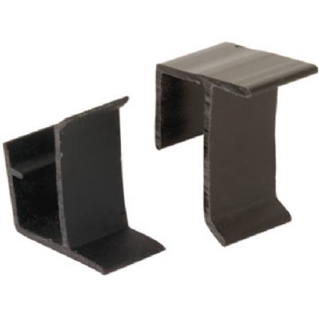 Prime Line Products 181960 8-Pack Black Vinyl Window Screen Retainer Clips - Quantity 1