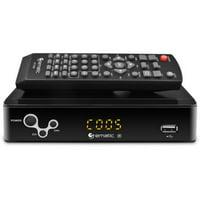 AT103B Digital Converter Box with LED Display & Recorder, Refurbished
