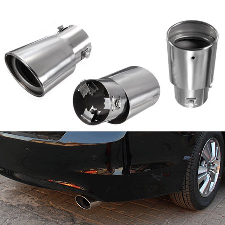Drop Tail Design (Grtsunsea Stainless Steel Car Auto Exhaust Drop Down Tail Pipe Tip Diesel Trim Muffler )