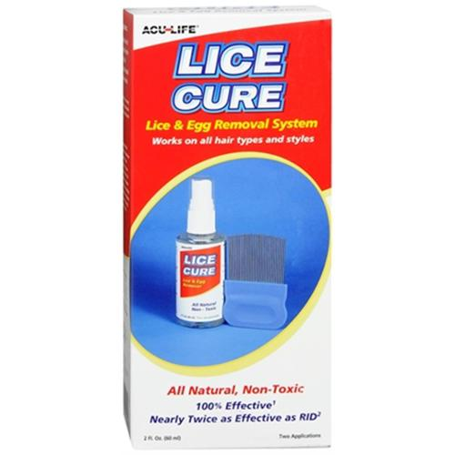 Acu-Life Lice Cure Lice & Egg Removal System 2 oz (Pack of 4)