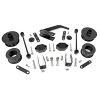 """Rough Country 2.5"""" Lift Kit (fits) 2007-2018 Jeep Wrangler JK   Series II   Suspension System   635"""