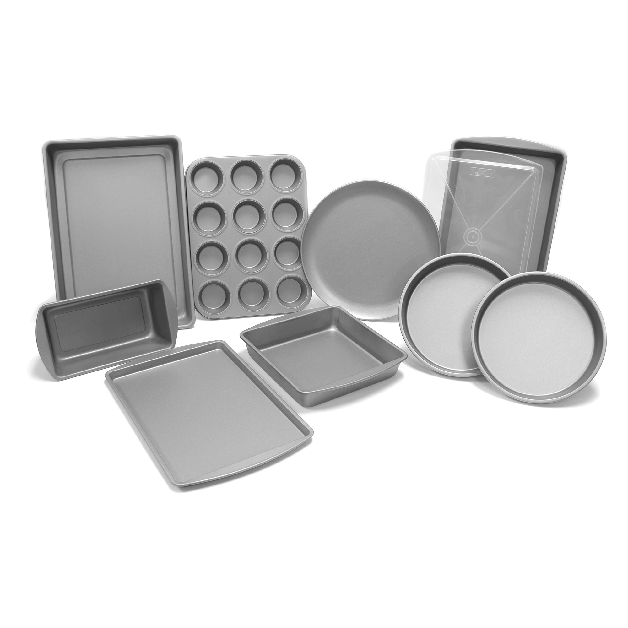 G & S Metal Products, Co. Overstuff DuraGlide Plus Bakeware Set (10 Piece)