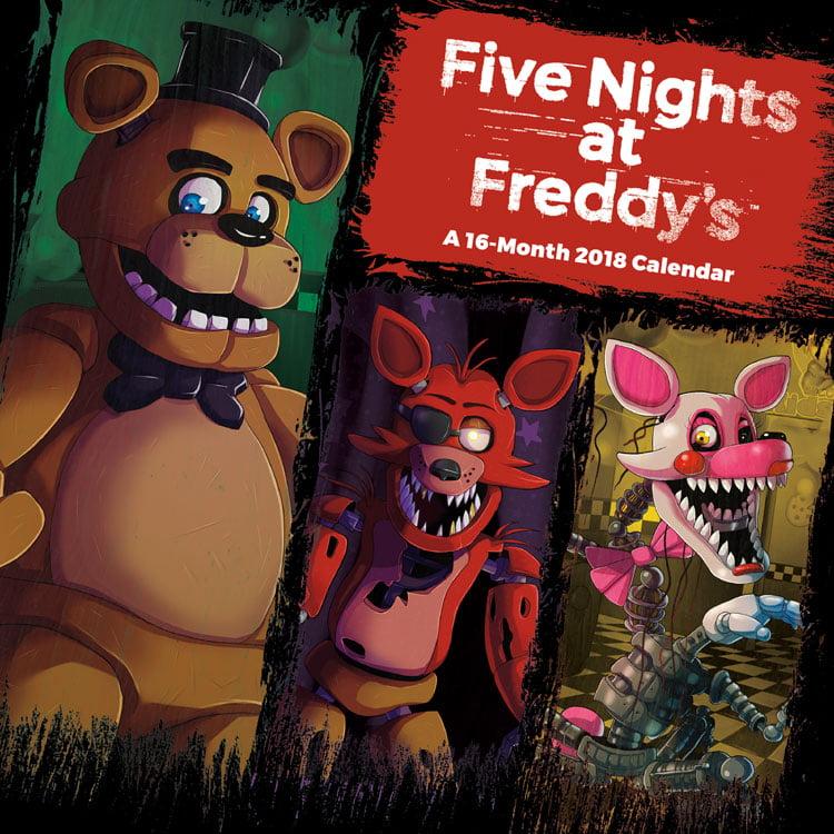 Five Nights at Freddy's 2018 Mini Wall Calendar by Trends International