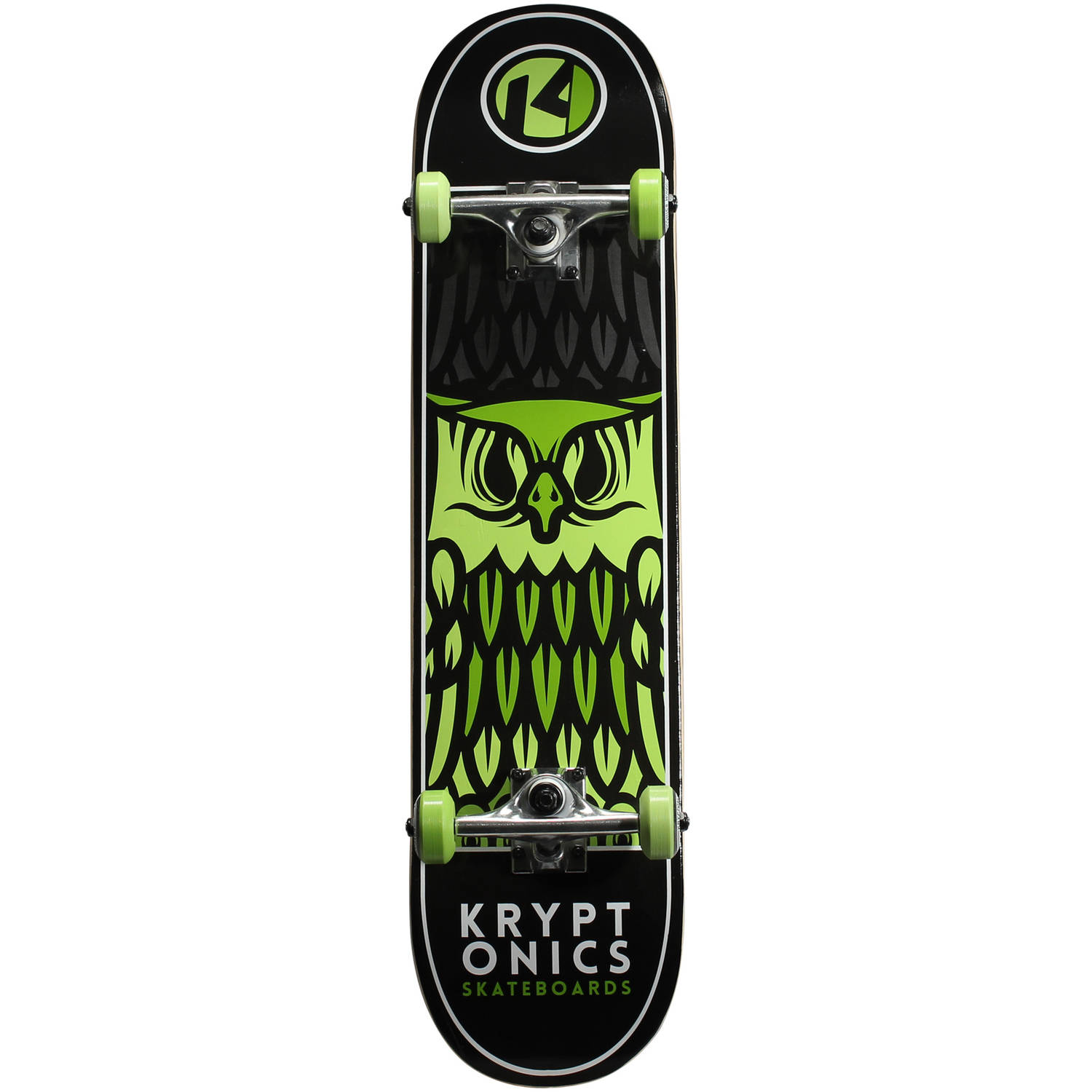 "Kryptonics Kingpin Complete Skateboard, 31"" x 7.5"""
