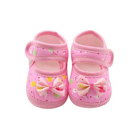 Babula Infant Baby Kids Summer Sandals Girl Princess Soft Sole Shoes 0-18M