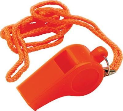 Safety Whistle Made Of Orange Injected Molded ABS Plastic 4PK