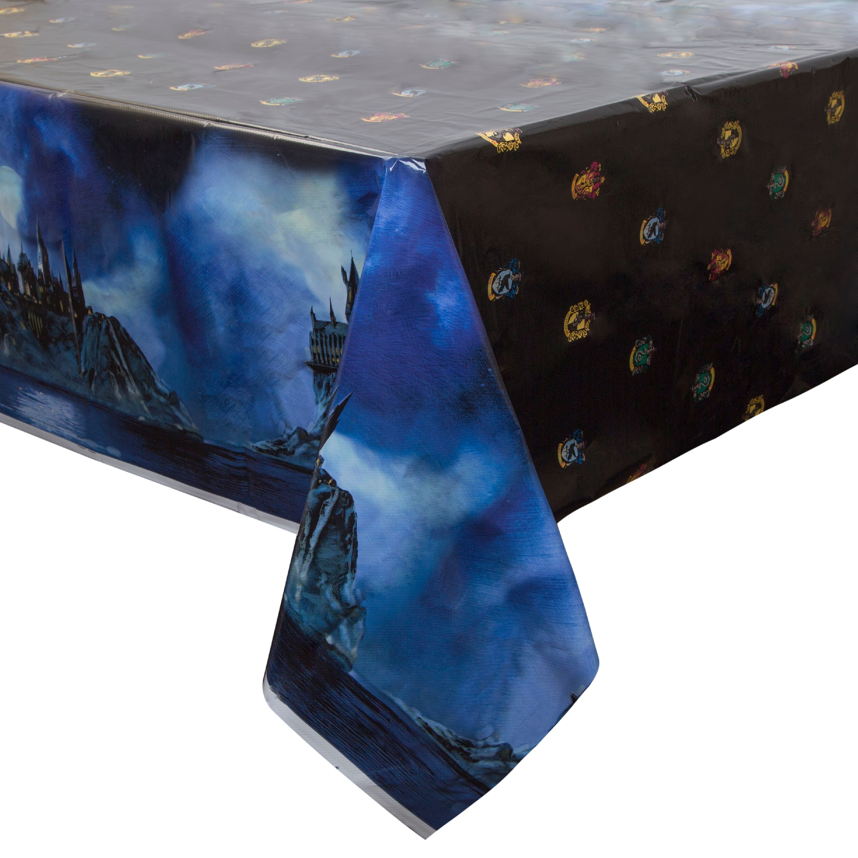 Harry Potter Plastic Tablecloth, 84 x 54 in, 1ct