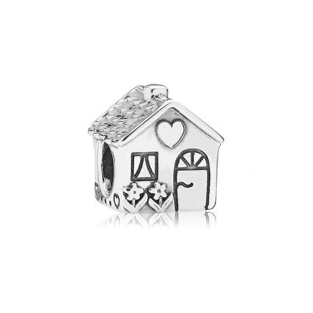 Pandora Home Sweet Home Silver Charm 791267 2006 Sterling Silver Charm