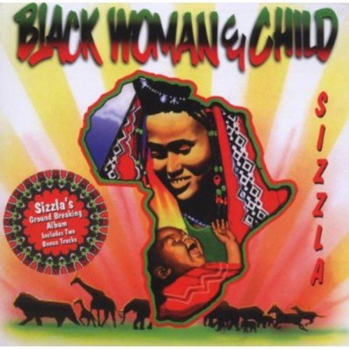 """Personnel: Sizzla (vocals); E. Wilks, D. Browne (guitar); D. Fraser,  (saxophone, background vocals); Saxie (saxophone); Nambo (trombone); P. Enton (piano, keyboards, bass, drums); B. Ohare, Jazzwad (keyboards, bass, drums); D. Dennis, B. Myers (keyboards, bass); P. Crossdale (keyboards); Robert Shakespeare (bass); M. Miller, Sly Dunbar, Paul (drums); Bongo Herman, Dish (congas); M. Gitten, D. Browne (background vocals).<BR>Producers: Bobby Digital Dixon, The Crew For Digital B Music LTD.<BR>Recorded at Digital B Studio, Kingston, Jamaica.<BR>Whether accounts of his outspoken, controversial sociopolitical pronouncements are exaggeration or even pure rumor, they perfectly encapsulate the quality that has made Sizzla such a sensation in the Jamaican dancehall.  His is an uncompromising millenarian vision more akin to the urgent roots style made famous by Burning Spear, Black Uhuru and Bob Marley than any of his deejay contemporaries. BLACK WOMAN & CHILD is compiled and produced by the original Bobby Digital, (the Jamaican producer who oversaw Buju's re-birth as a conscious deejay on TIL SHILOH, not RZA's alter ego).  More than any other album, it represents the style and the songs which assured Sizzla his cult status among devotees of """"conscious"""" music."""
