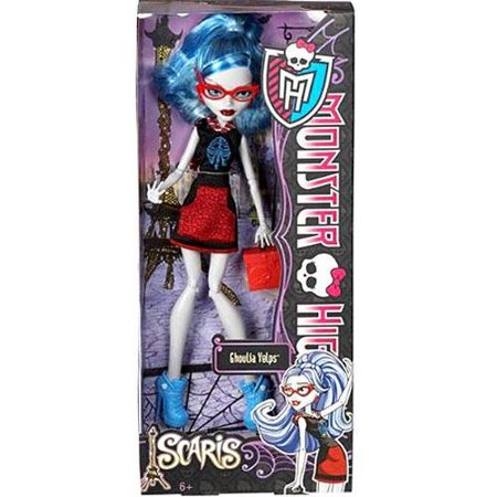 monster high scaris city of frights ghoulia yelps (Monster High Ghoulia Yelps Doll With Pet Owl)