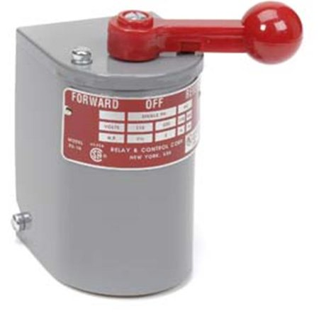 1.5 hp - 2 hp Electric Motor Reversing Drum Switch - Single Phase Only - Position = Maintained # RS-1A-SH ()